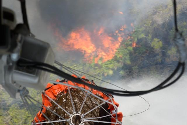 Joint Task Force-Bravo supports Honduran firefighting efforts