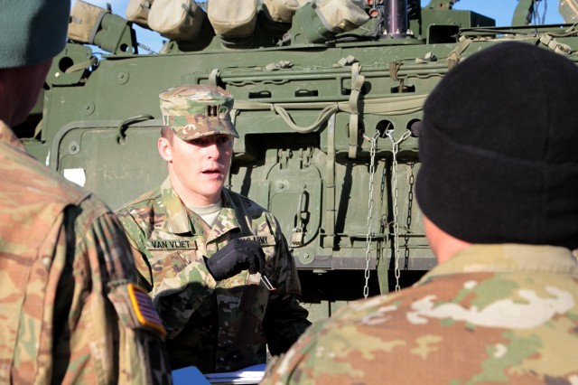 Raider brigade certifies to observe, adjust
