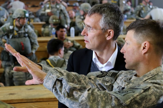 NATO Secretary General visits Fort Bragg   Article   The United