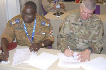 US, Burkina Faso wrap-up Western Accord 2016 planning event