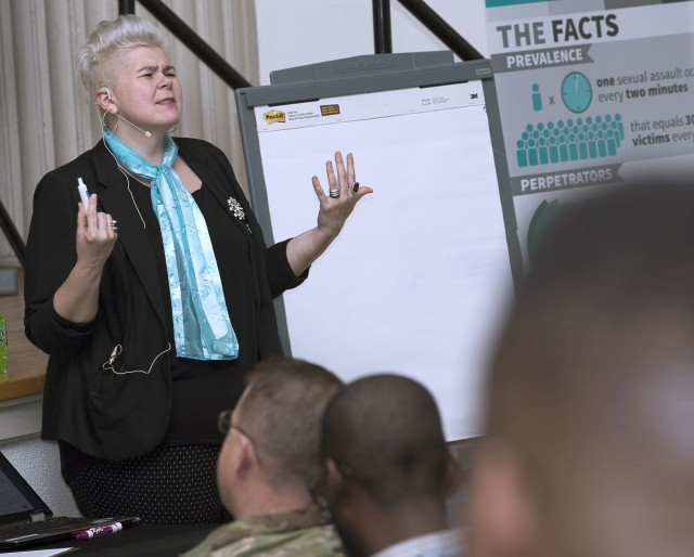 JBM-HH learns how to 'beat the blame game' at Sexual Assault Awareness Month kick-off