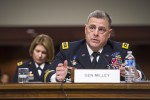 Chief of Staff of the Army Mark Milley testify to the U.S. Senate Committee on Armed Services on the posture of the Department of the Army at Capitol Hill in Washington, D.C., April 7, 2016.