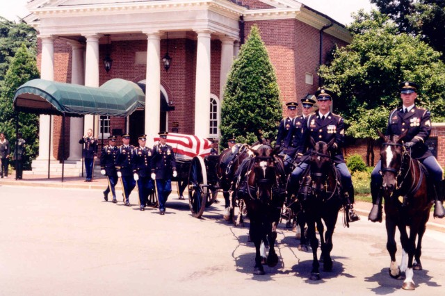 Capt. Larry Thorne, missing in action for decades, was given full honors and laid to rest at Arlington National Cemetery June 26, 2003. Thorne is a national hero in his birth country of Finland and a military hero in the country for which he swore allegiance and laid down his life--the United States. USASAC employee Andy Hollingsworth was instrumental in bringing one of the Green Beret's most legendary Soldiers home.