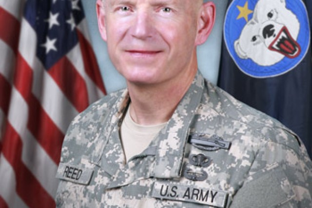 COL Shawn E Reed hails from Bass Harbor, Maine. He received his commission in 1989 from the University of Southern Maine ROTC program. He is married to Dr. Mary Lim Reed, LTC, USA, of NYC, NY. After commissioning, COL Reed was assigned to the 5th Battalion, 20th Infantry, 2ID, Korea where he served as a Rifle Platoon Leader and HHC Executive Officer. Subsequently, he was assigned to the 2nd Battalion, 502nd Infantry (Air Assault) at Fort Campbell Kentucky, where he served as a Delta Company Platoon Leader, Rifle Company Executive Officer, Battalion S3 Air, and Battalion S4. Following graduation from the Infantry Officer Advanced Course, COL Reed was assigned to the 1st Battalion, 17th Infantry, 6th ID (Separate), Fort Wainwright, Alaska, where he served as the BN assistant S3 and commanded a Rifle Company. After company command COL Reed served at Fort Bragg, NC with the 18th Airborne Corps as a Team Chief, Emergency Deployment Readiness Exercise division of G3, and as the 18th Airborne Corps Deputy G3. Following completion of the Command and General Staff College, COL Reed was assigned to 1st BDE, 25th Infantry Division (Stryker) at Fort Lewis, Washington, where he served as the BN S3 for 1st Battalion, 5th Infantry and the BDE S3 for the Lancer Stryker Brigade. In 2004 COL Reed was reassigned to US Army Alaska where he served as the Deputy G7 and the Deputy G3 Forward, Fort Wainwright, Alaska for 12 months prior to becoming the 172d Stryker Brigade Combat Team Executive Officer. During his 30 months as 172d SBCT XO he deployed to Mosul and Baghdad, Iraq for their 16 month extended tour. COL Reed took command of the 1st Battalion, 5th Infantry Regiment, 1/25th Stryker Brigade Combat Team, Fort Wainwright, Alaska in December of 2006. He commanded this battalion through deployments to Australia as part of Operation Talisman Sabre and to the Philippines as part of Operation Balikatan. From September 2008 to September 2009 COL Reed commanded the Battalion through a comb