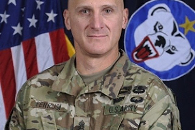 Command Sergeant Major Michael A. Ferrusi is a native of Niagara Falls; New York. He entered the Military into the Infantry in February of 1987 at Ft Benning, Georgia.After attending Basic Training, Command Sergeant Major Ferrusi's first operational assignment was in 1987 to the 1-509th Parachute Infantry Regiment, Joint Readiness Training Center, Ft Chaffee Arkansas. During this assignment, he served as Rifleman, Saw Gunner, Machine Gunner, RTO, Rifle Team and Squad Leader, and Recon Squad Leader.In 1996, Command Sergeant Major Ferrusi was assigned to Bravo Company, 3rd Battalion 75th Ranger Regiment, Fort Benning GA, where he served as a RSOV Squad Leader, Weapons Squad Leader and Platoon Sergeant. In 2001, Command Sergeant Major Ferrusi moved to the Headquarters and Headquarters Company, 75th Ranger Regiment where he served as the Assistant Operations Sergeant and Liaison Operations NCO. During this assignment, he participated in combat operations in Operation Enduring Freedom and Operation Iraqi Freedom.In April 2002, Command Sergeant Major Ferrusi was re-assigned to Headquarters and Headquarters Company, 1st Battalion, 75th Ranger Regiment, Savannah Georgia, where he served as the Intelligence Operations Sergeant and then First Sergeant for Charlie Company and Headquarters and Headquarters Company. During these assignments, he participated in combat operations in Operation Enduring Freedom and Operation Iraqi Freedom.In July of 2005, Command Sergeant Major Ferrusi attended and graduated from the United States Army Sergeants Major Academy. Following his assignment to the Academy, in 2006 Command Sergeant Major Ferrusi was assigned to the Asymmetric Warfare Group at Ft Meade, Maryland. During his assignment with the AWG, he was the first Group Operations Sergeant Major and the First Command Sergeant Major of Accessions and Selection. In August of 2007, Command Sergeant Major Ferrusi was assigned to 1-11th IN, 199th IN BDE, FT Benning Georgia, In November of 2009 