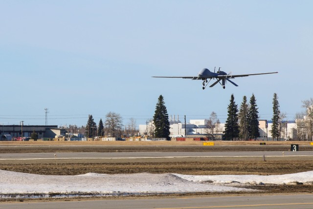 Gray Eagle Take-off