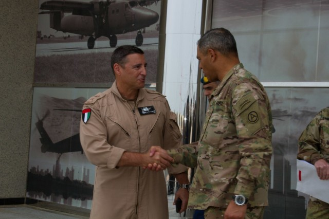 USARCENT commander engages military leaders in UAE