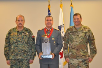 WHINSEC Partner Nation Instructor named TRADOC Educator of the Year