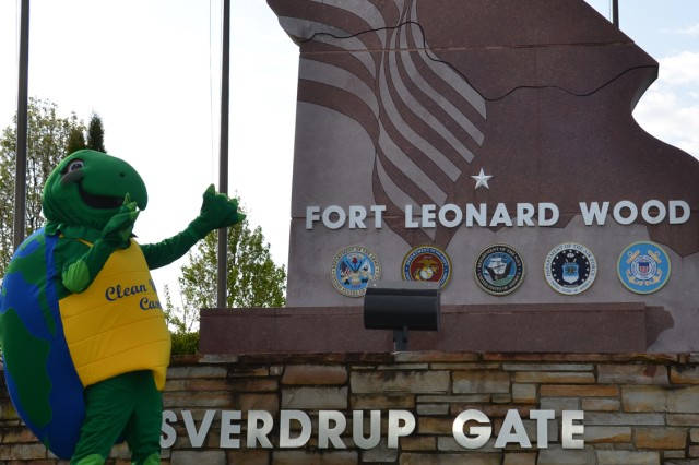Clean Water Casey will join Smokey Bear during Fort Leonard Wood's Earth Day Fair and Celebration scheduled from 10 a.m. to 2 p.m. April 29 at Nutter Field House.
