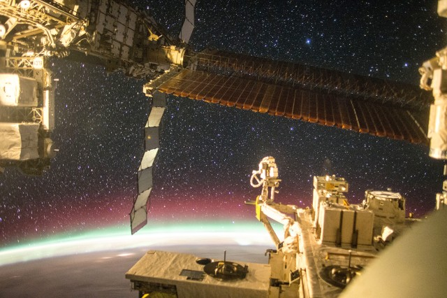 Astronaut Kimiya Yui captured this photograph from the Japanese Experiment Module window on the International Space Station on Dec. 6, 2015. Picatinny Arsenal is partnering with NASA to provide quality assurance expertise that the space agency can apply to various missions. NASA website photo.
