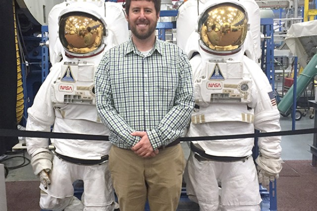 Ben Schumeg, a quality assurance engineer at Picatinny Arsenal, has been on assignment to NASA as part of a partnership to share best practices between the space agency and the U.S. Armament Research, Development and Engineering Center.