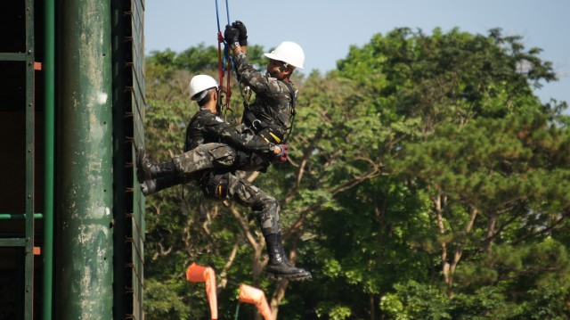 Search and Rescue Soldiers participate in Balikatan 2016