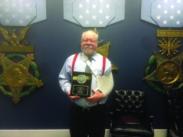 Noise engineer earns top honors at Pentagon ceremony