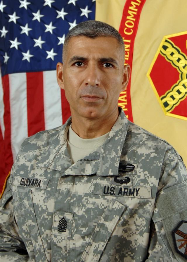 Command Sergeant Major Pedro Guevara