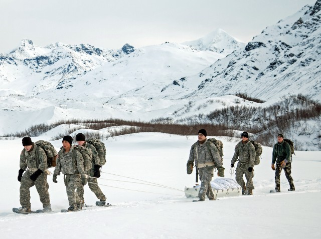 Sled to transport equipment tested in Alaskan cold