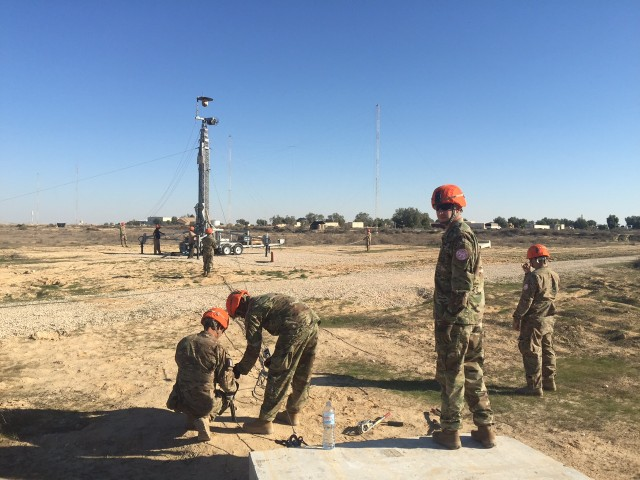2CR Soldiers spearhead remote-operated force protection systems in the Sinai