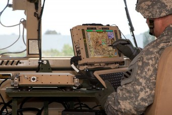 By utilizing a single hardware solution, the Mounted Family of Computer Systems reduces size, weight and power demands, while also improving the Soldier experience to better plan, monitor and execute missions. Photo from BAE Systems.