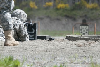 Sgt. Oscar Gomez-Lopez, 508th Military Police Battalion, and Spc. Joshua Diaz, 571st Military Police Company, rose above their peers during the 593rd Expeditionary Sustainment Command's 2016 Best Warrior Competition, April 25-29.