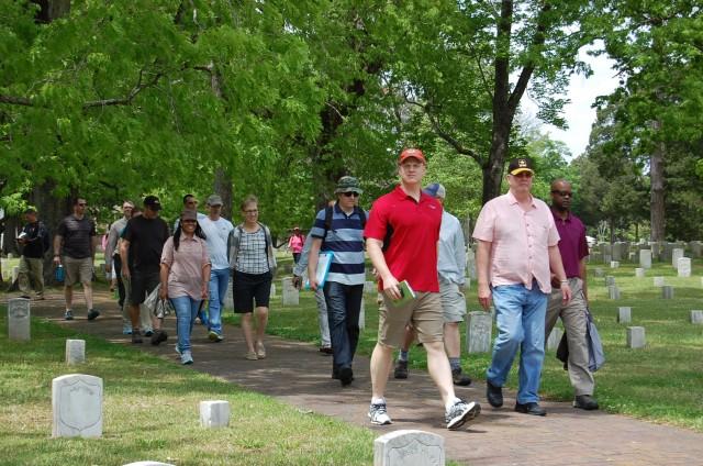 HRC walks Shiloh battlefield