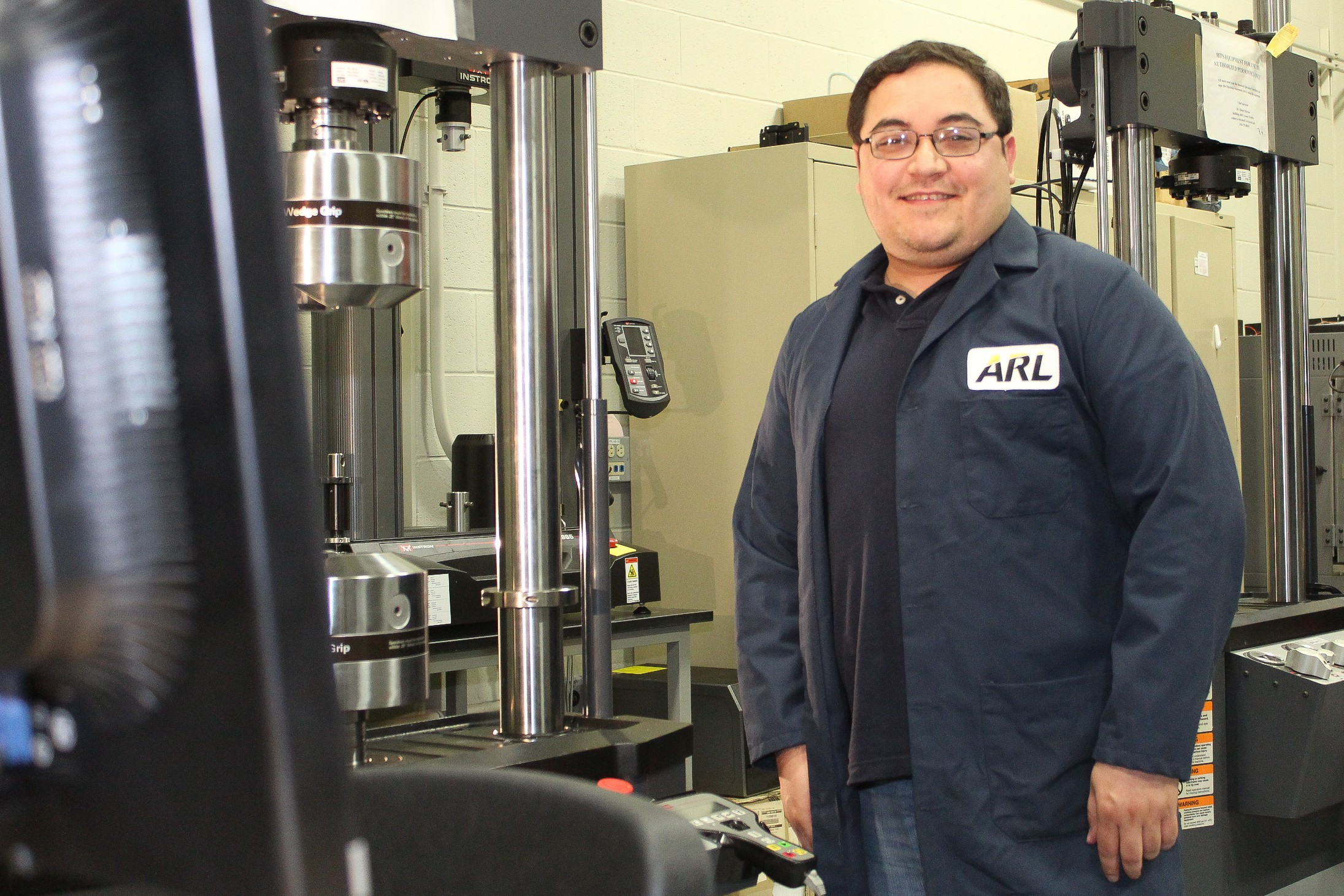 Texas aerospace engineer researches nanotechnology for Army