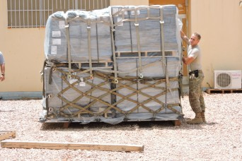 Soldiers in Cameroon receive first mail shipment