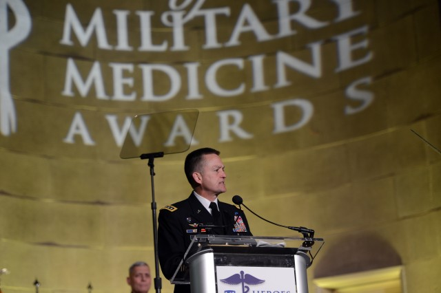 "Vice Chief of Staff of the Army Gen. Daniel B. Allyn was named a ""Hero of Military Medicine, Senior Leader Honoree,"" May 5, 2016, during the Heroes of Military Medicine Awards banquet in Washington, D.C."