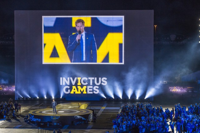 The 2nd Annual Invictus Games, Orlando, Fla., Mar. 8, 2016. U.S. Army Chief of Staff, Gen. Mark A. Milley, met with leaders, participants and families involved with the games then attended opening ceremonies.