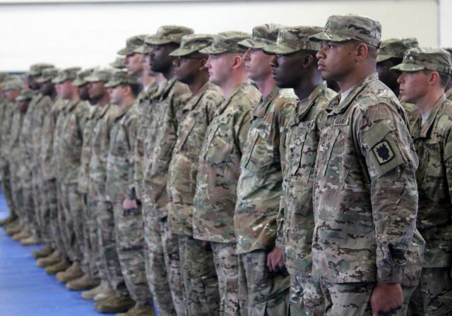 Soldiers of 518th TIN Co honored in ceremony