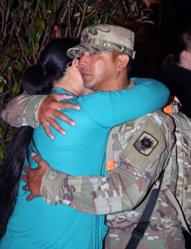 Soldiers of 518th TIN Co say 'goodbye'