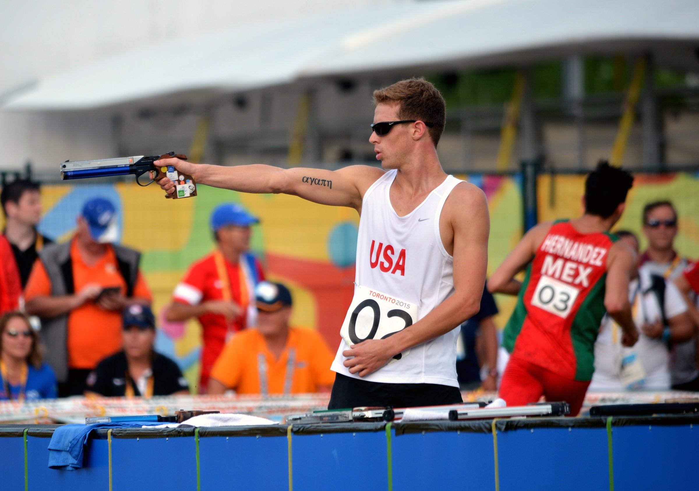Pentathlon. Modern pentathlon: five sports excellence in one