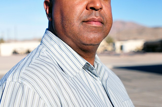 Blanch Watkins is the chief of Plans and Operations, and the deputy director, for the Logistics Readiness Center at Fort Irwin, California. (Photo by Jon Micheal Connor, ASC Public Affairs)
