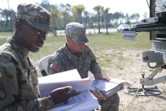 Soldiers of 2nd Infantry Brigade Combat Team, 3rd Infantry Division held a communications exercise at Fort Stewart, Georgia, May 4.