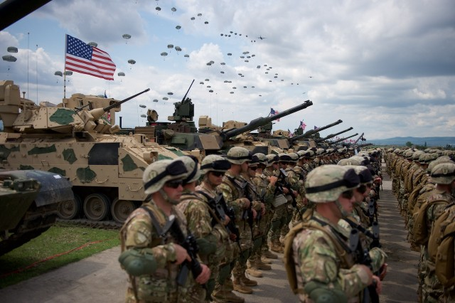 US, UK, Georgian soldiers cultivate capabilities in Exercise Noble Partner