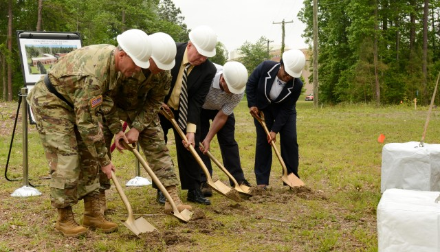 94th Training Division breaks ground for new Army Reserve training center