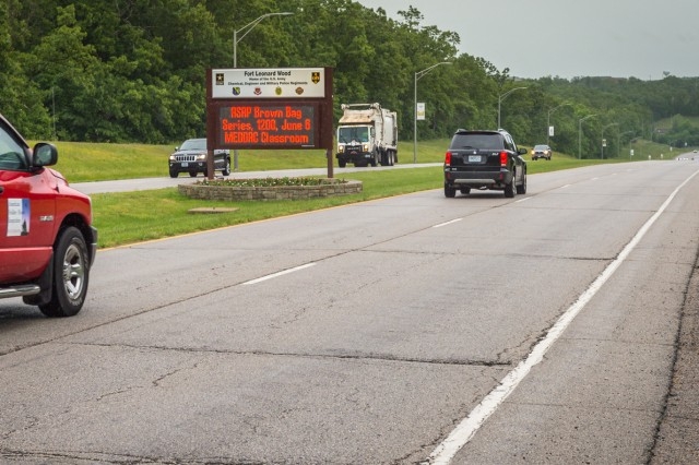 Fort Leonard Wood's Missouri Avenue will be repaired to rid the main stretch, between the Main (North) Gate and General Leonard Wood Army Community Hospital, of cracks and ridges that create a bumpy ride. Part of the project will be to add curb and water-drainage gutters.