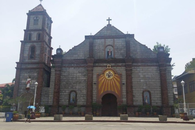The Church of Saints Peter and Paul, Bauang, La Union, Philippines where the San Pedro Bell will return to, from the Most Holy Trinity Catholic Chapel at West Point (Courtesy photo, the Church of Saints Peter and Paul/all rights reserved.)