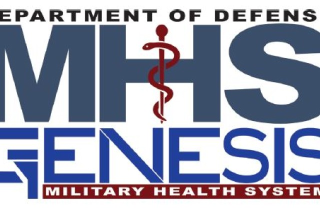 The new Military Health System (MHS) Genesis logo