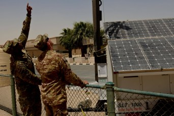 Solar lighting project moves forward at US Army Central
