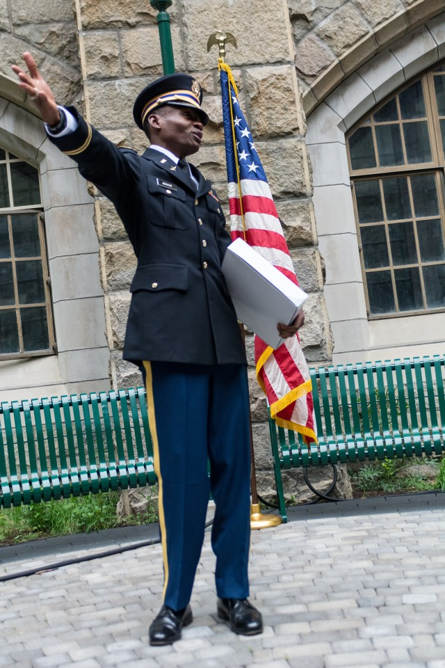 From Port-au-Prince to West Point: Maryland Guard's First Graduate