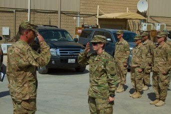 USARCENT Soldiers earn Army Fitness Badge in Kuwait