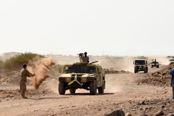 Djiboutian Armed Forces soldiers finish a five-month training