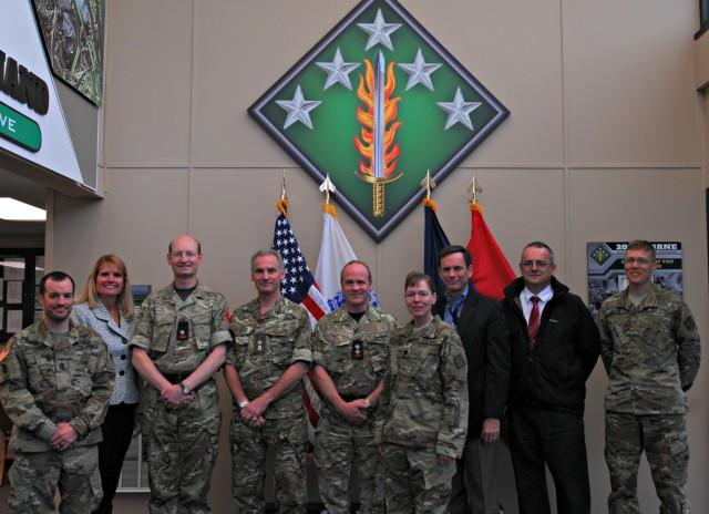 British CBRN force visits 20th CBRNE Command