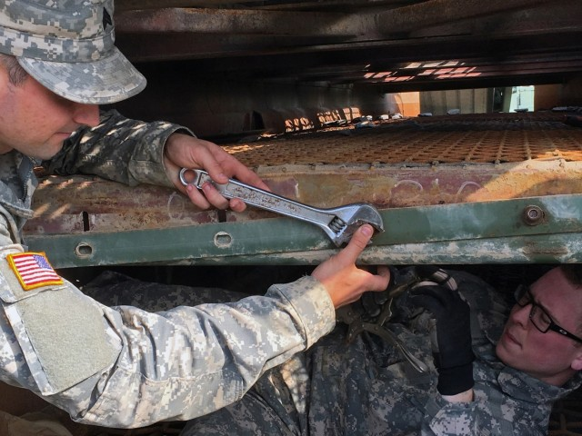 204th Engineer Detachment (Quarry) Troops Preps for Operations at Fort Drum