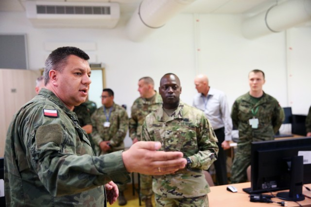 Army Europe builds communication, partnership in Poland