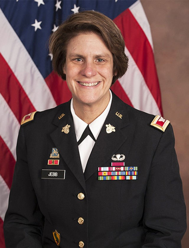 Col. Cindy Jebb, the next U.S. Military Academy's Dean of the Academic Board