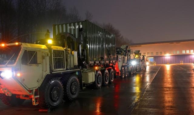 Moving across Europe for Operation Atlantic Resolve