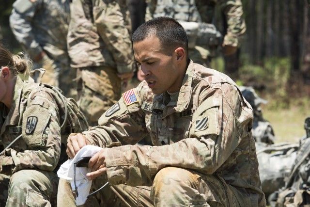 Corps Soldiers Compete to be Best of the Best