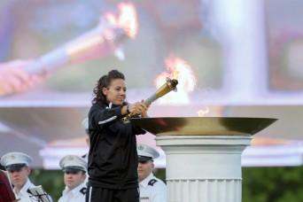 Torch lighting, honoring of Vietnam vets kicks off DOD Warrior Games