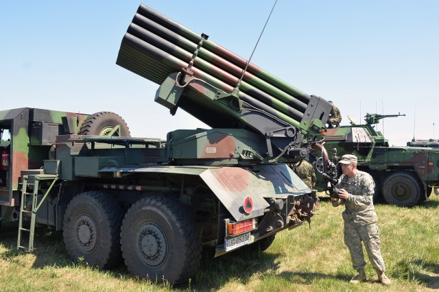North Carolina Guard Soldiers bring out the big guns and rockets with Polish comrades