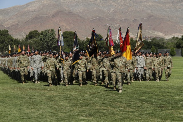 1st Armored Division change of command